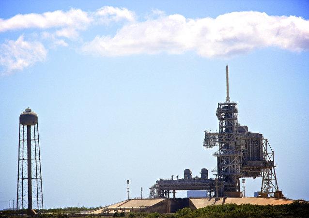 La plataforma de lanzamiento del Centro espacial John F. Kennedy