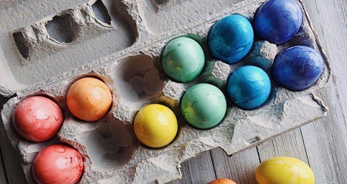 Huevos de pascuas, imagen referencial