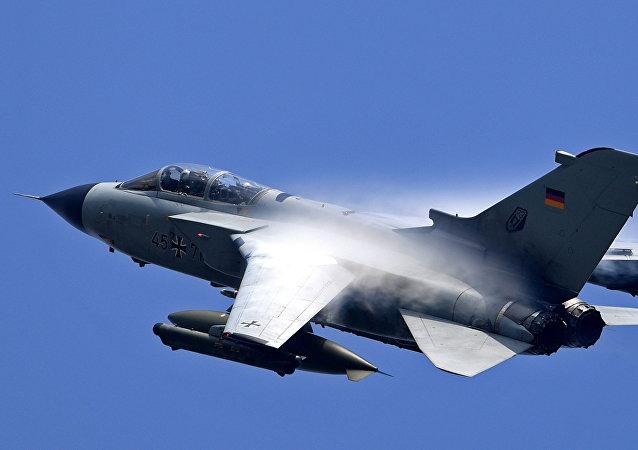 El avión de combate alemán Tornado