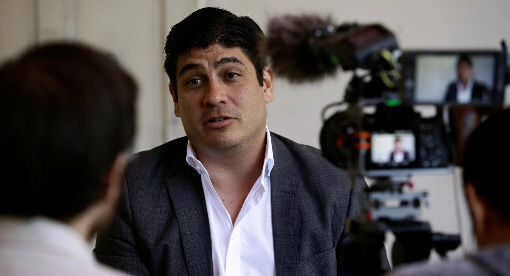 Carlos Alvarado, presidente electo de Costa Rica