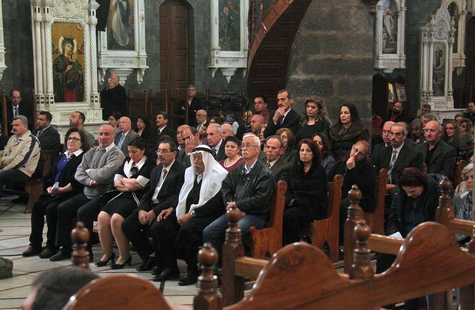 Guta Oriental fue uno de los últimos bastiones de los grupos terroristas. Ahora, pueden volver a la iglesia.