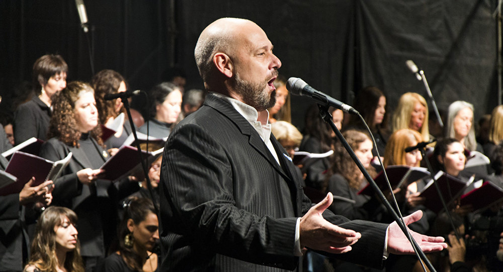 El tenor argentino y excombatiente de Malvinas Darío Volonté
