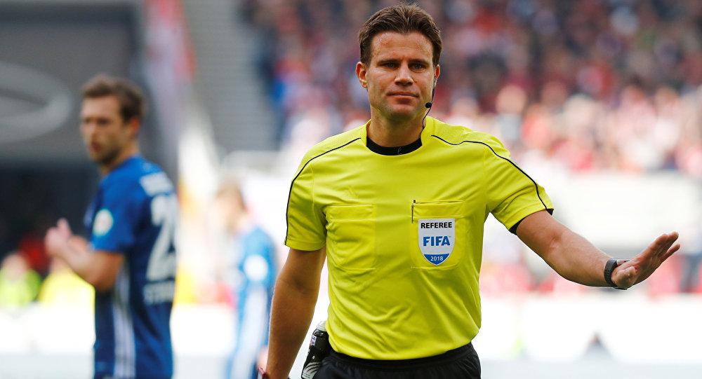 Felix Brych, árbitro alemán