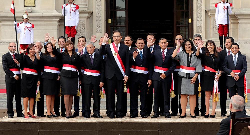 Resultado de imagen para nuevo gabinete de Perú