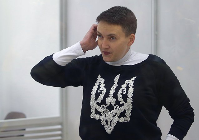 Nadiya Sávchenko, diputada de la Rada Suprema