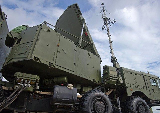 Sistema de misiles S-400, foto de archivo