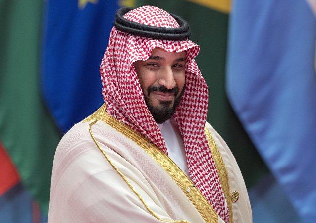 El príncipe heredero de Arabia Saudí, Mohamed bin Salman Saud (archivo)