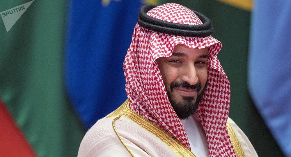 El príncipe heredero de Arabia Saudí, Mohamed bin Salman Saud