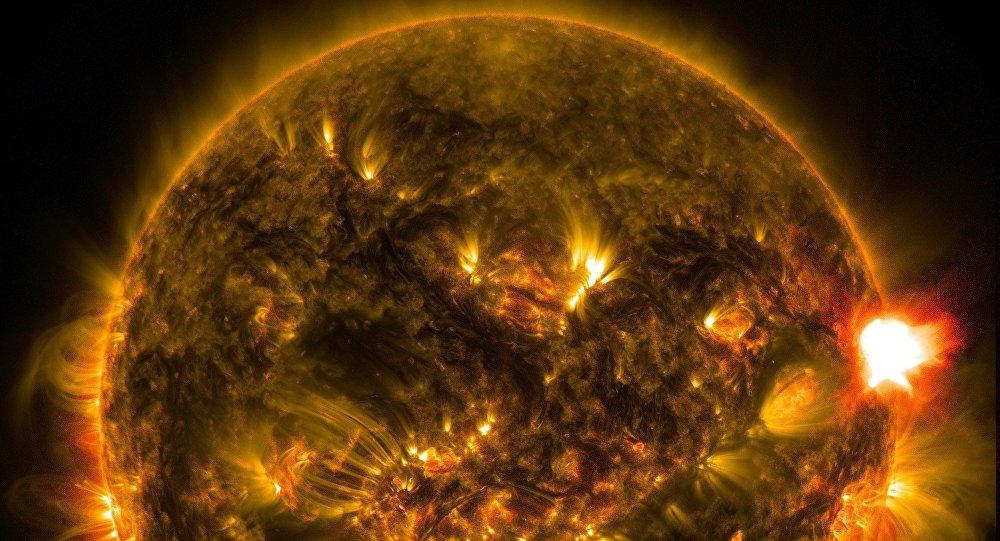 Sol, foto de archivo