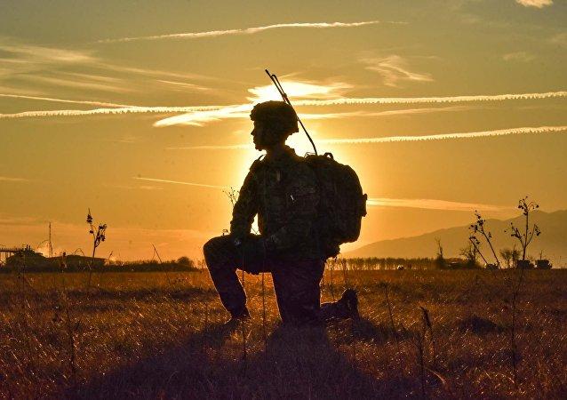 Un militar (image referencial)