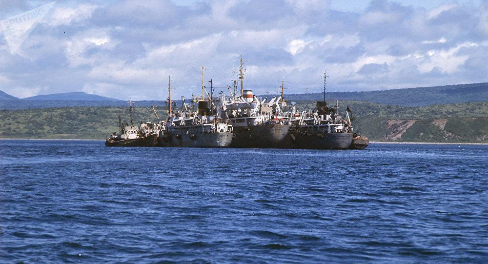 Barcos pesqueros (imagen referencial)