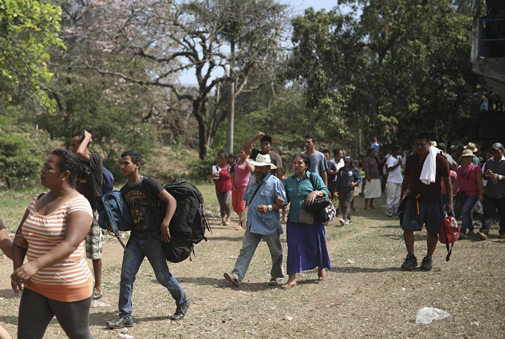 La caravana de migrantes centroamericanos que ha provocado la ira de Trump