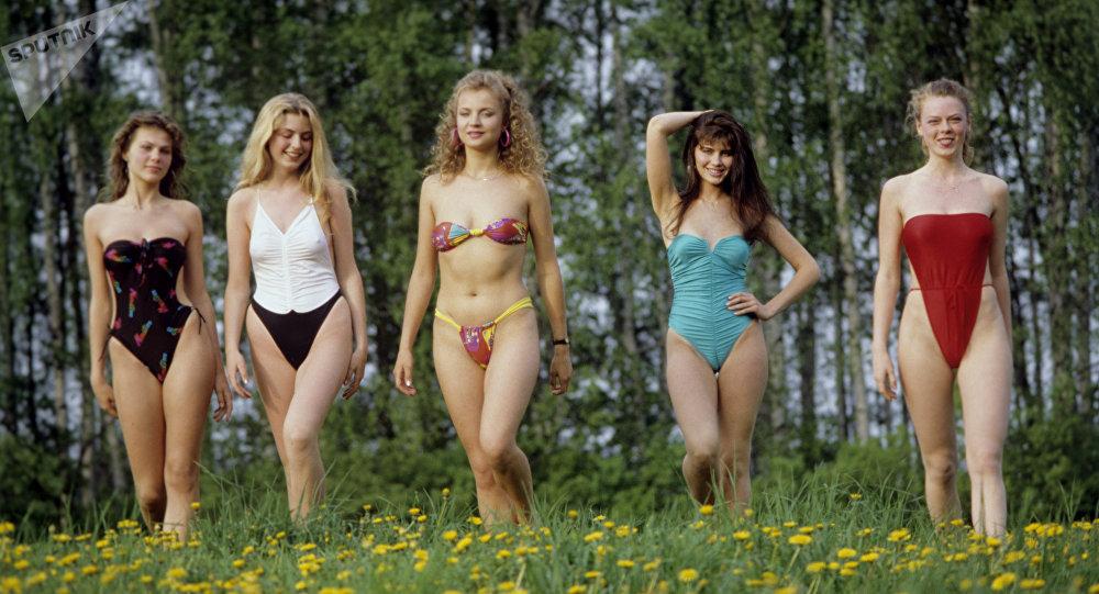 La preparación del Primer Concurso de Belleza Miss URSS 89