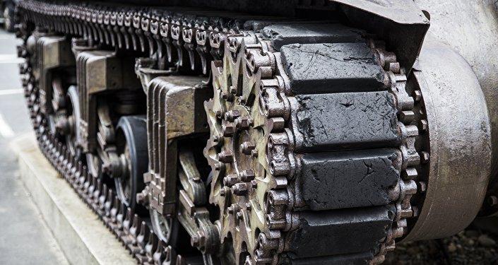 Un vehículo blindado, imagen referencial