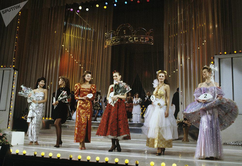 El Primer Concurso de Belleza Miss URSS 89