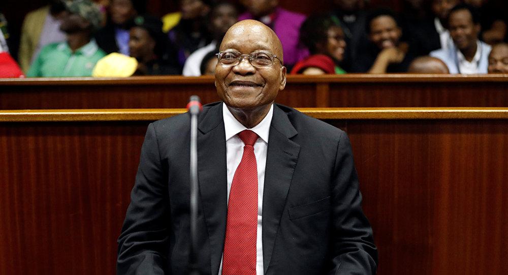 Jacob Zuma, expresidente de Sudáfrica