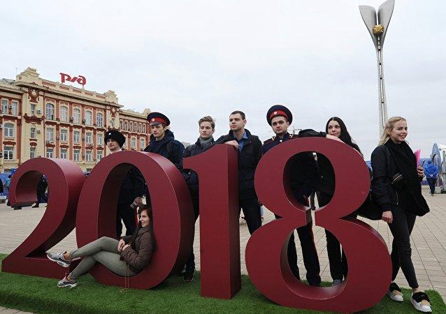 Habitantes del Rostov del Don, sede del Mundial 2018