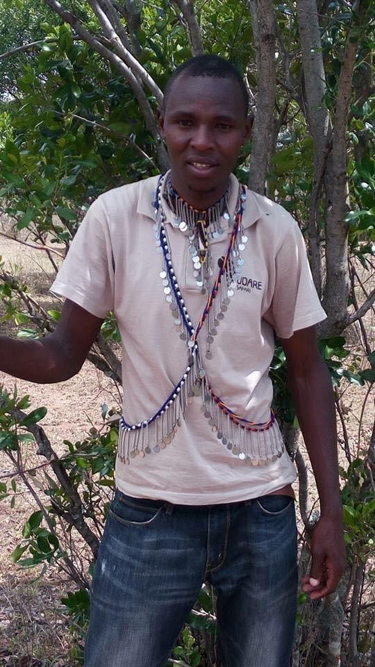 Lázaro, un joven masái tanzano