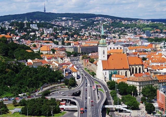 Bratislava, capital de Eslovaquia
