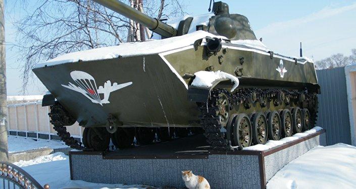 Sistema artillero autopropulsado 2S9 Nona-S