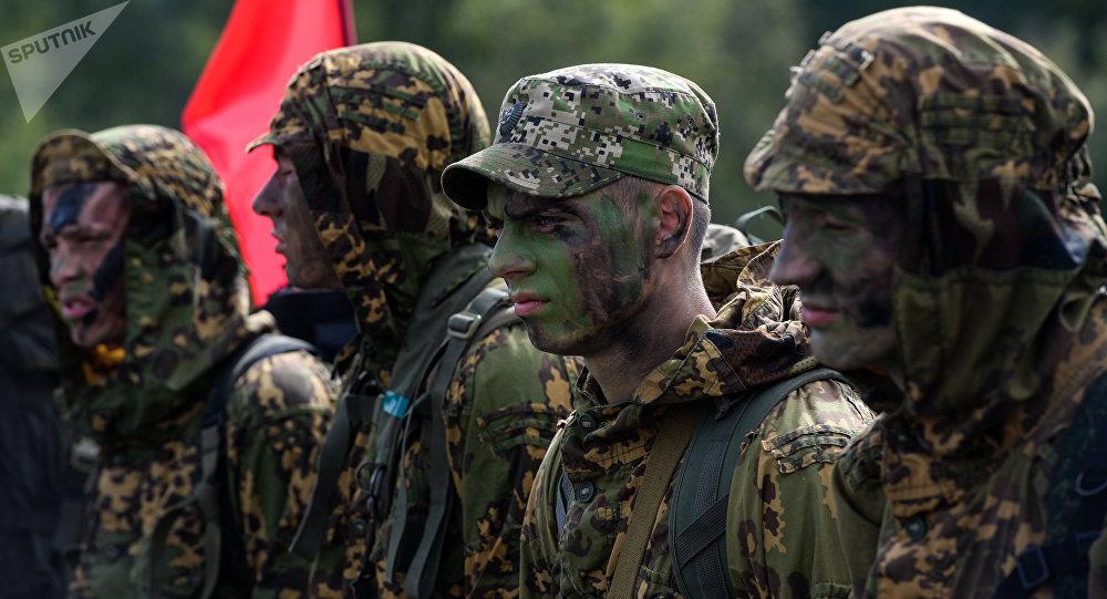 Militares bielorrusos (archivo)