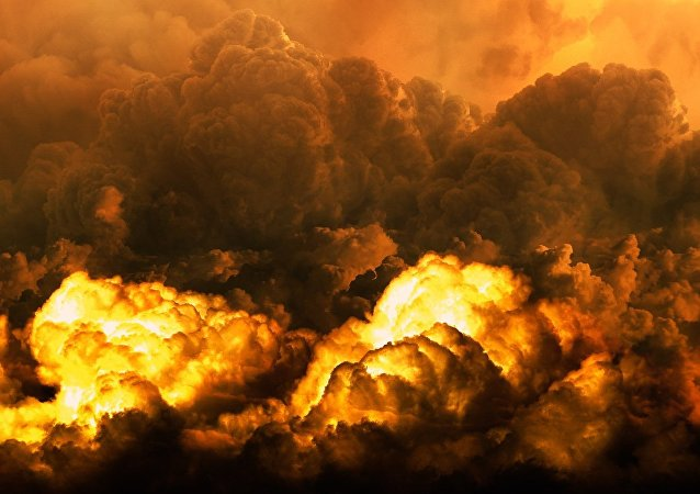 Nubes nucleares, imagen ilustrativa