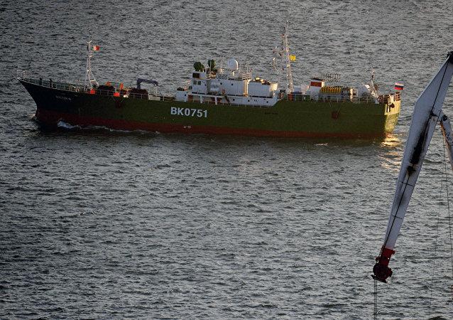 Un barco pesquero ruso (imagen referencial)