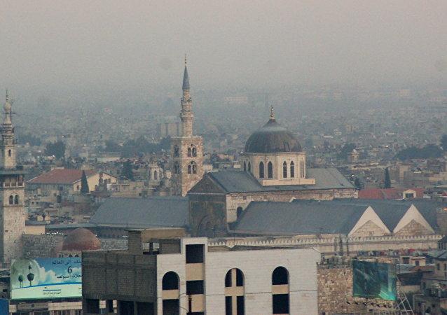 Mezquita de los Omeyas, Damasco, Siria (archivo)