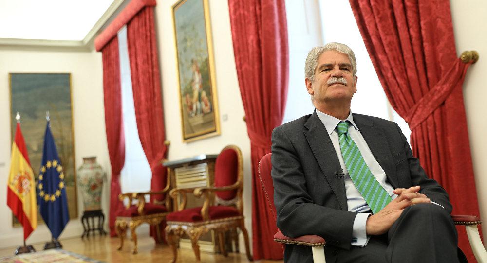 Alfonso Dastis, el ministro de Asuntos Exteriores de España (archivo)