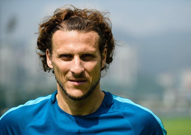 Diego Forlán, futbolista uruguayo
