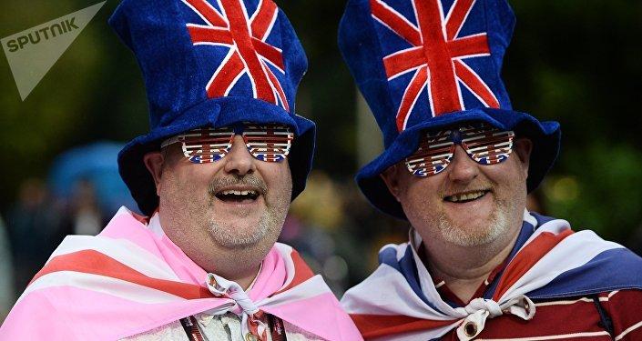 Los aficionados británicos (archivo)
