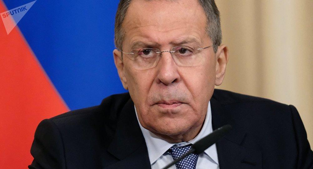 Serguéi Lavrov, el ministro ruso de Asuntos Exteriores en funciones