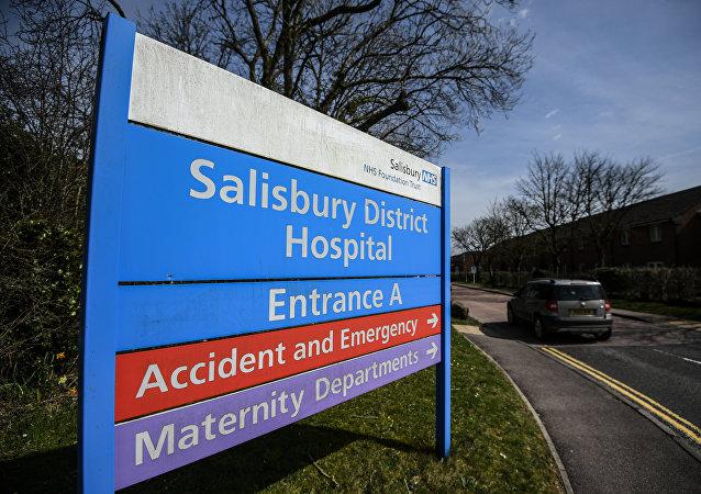 Hospital en Salisbury, el Reino Unido