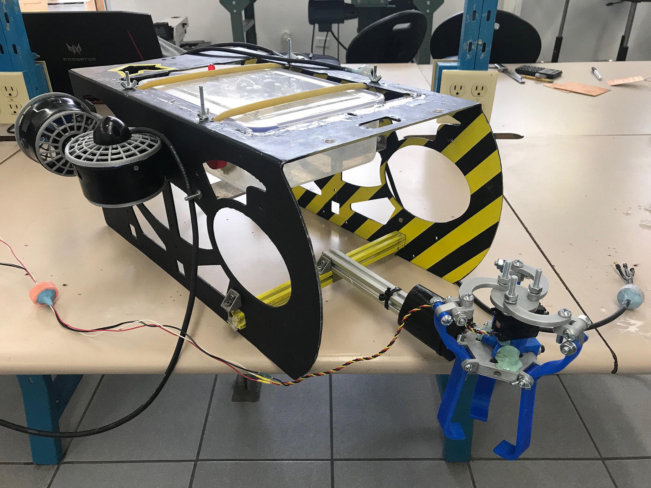 El robot submarino mexicano