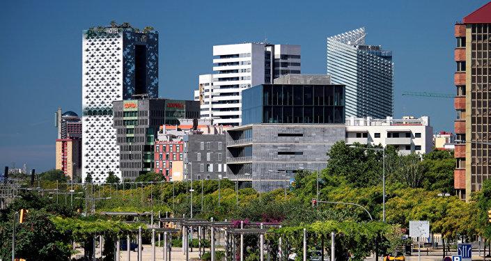 Poble Nou, uno de los centros económicos de Barcelona (imagen referencial)