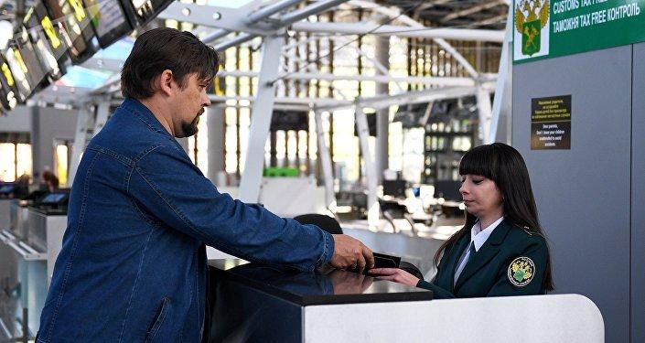 La introducción del sistema de la la devolución del IVA en el aeropuerto de Sochi, Rusia