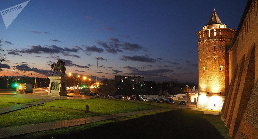 La ciudad rusa de Kolomna