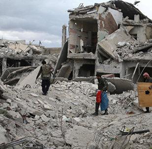 Situación en Duma, (Siria archivo)
