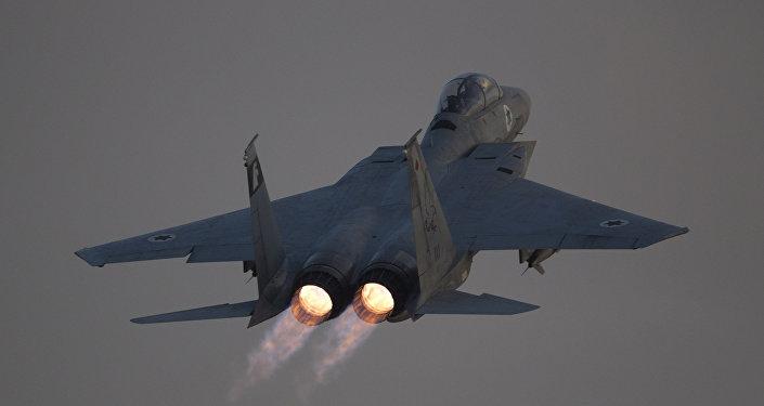 Un F-15 israelí (archivo)