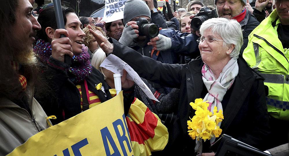 Clara Ponsatí, la exconsejera catalana