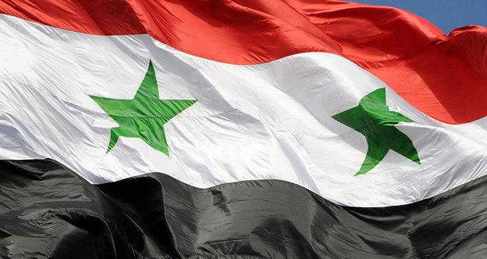 La bandera de Siria (imagen referencial)