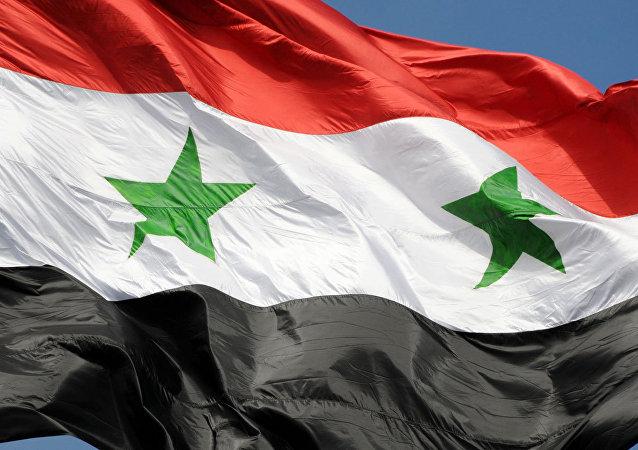 La bandera de Siria