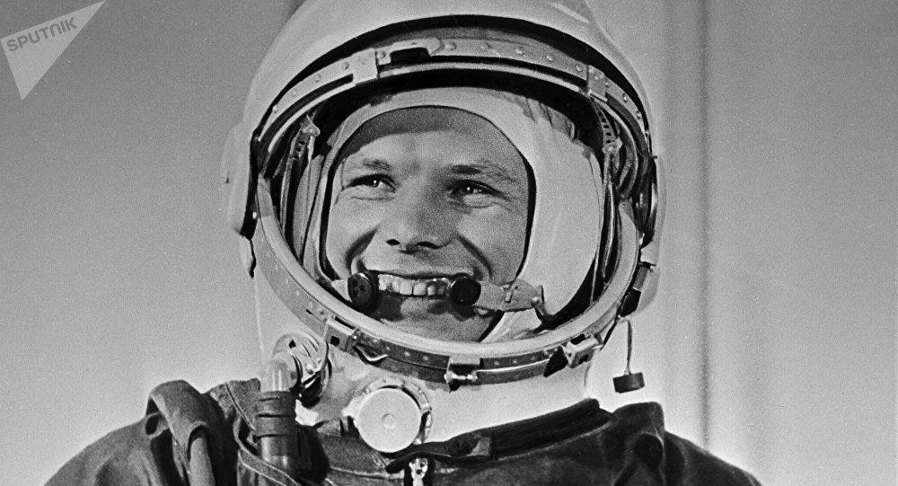 El cosmonauta soviético Yuri Gagarin