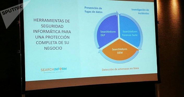 Conferencia en Buenos Aires de la empresa de seguridad informática SearchInform, líder en el ramo en Rusia