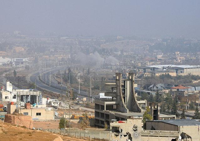 La ciudad de Duma, Siria (archivo)