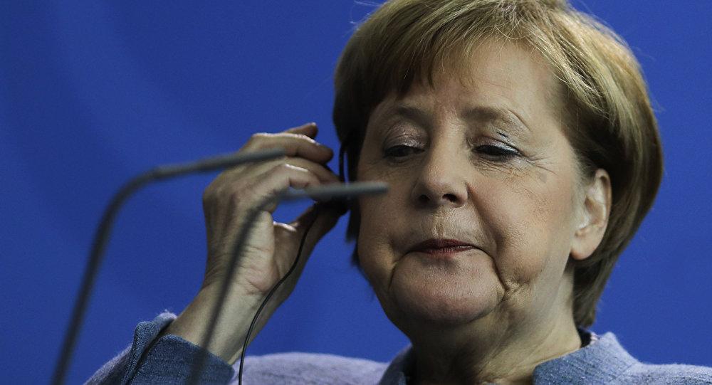 Angela Merkel, la canciller alemana (archivo)