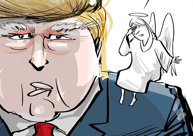 Ángel o demonio: la difícil lucha interna de Trump