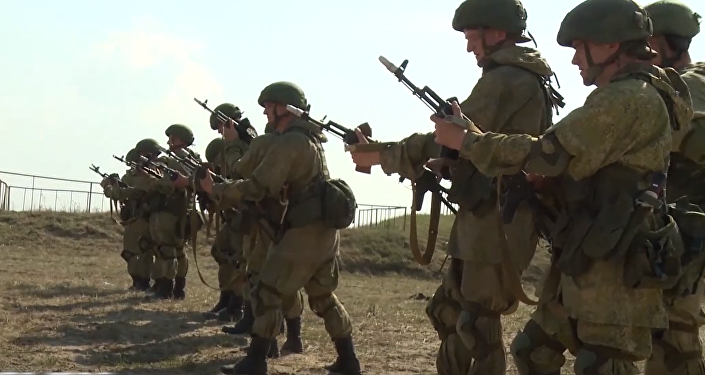 Hermanos de armas: paracaidistas de Rusia y Bielorrusia se ponen a prueba