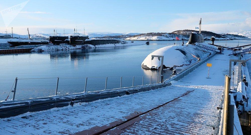 Un submarino ruso, imagen ilustrativa