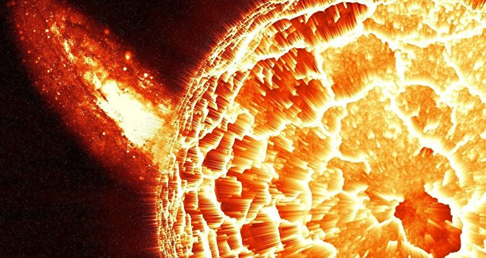 Un planeta ardiendo, imagen referencial